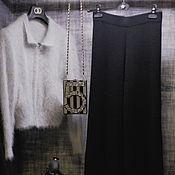 Одежда handmade. Livemaster - original item Flared trousers ( cashmere ). Handmade.