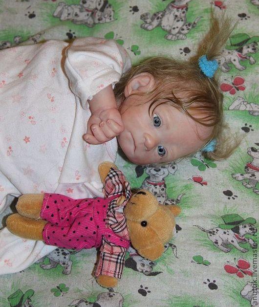 Куклы-младенцы и reborn ручной работы. Ярмарка Мастеров - ручная работа. Купить Ангелиночка 3. Handmade. Бежевый, винилл