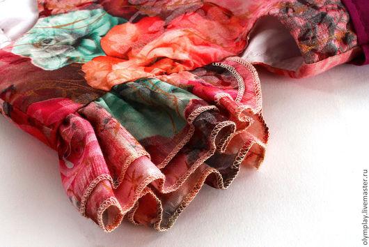 Одежда для девочек, ручной работы. Ярмарка Мастеров - ручная работа. Купить Детское платье - ручная работа (200321). Handmade. Бордовый