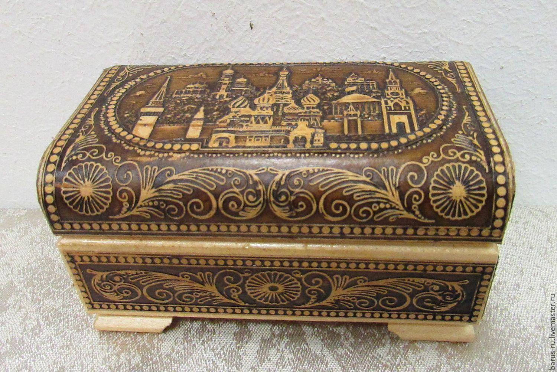 Фотографии деревянных шкатулок ручной работы