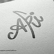 Дизайн и реклама ручной работы. Ярмарка Мастеров - ручная работа Разработка логотипа. Handmade.