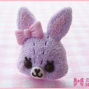 """Украшения ручной работы. Ярмарка Мастеров - ручная работа Кольцо """"Lavender Bunny"""". Handmade."""