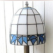 Для дома и интерьера handmade. Livemaster - original item Lamp Stained Glass. Handmade.
