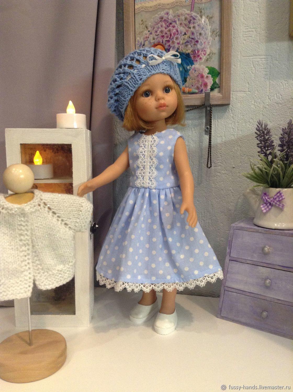 Polka dot dress, Clothes for dolls, Ekaterinburg,  Фото №1