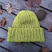 Аксессуары handmade. Livemaster - original item Beanie-beanie thick wool. Handmade.