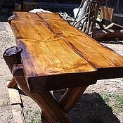Для дома и интерьера ручной работы. Ярмарка Мастеров - ручная работа деревянный стол. Handmade.