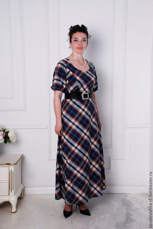 """Платья ручной работы. Ярмарка Мастеров - ручная работа. Купить платье """"Кандинский"""". Handmade. Синий, хлопок 70%"""