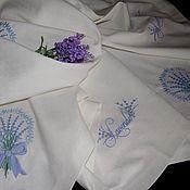 Для дома и интерьера handmade. Livemaster - original item Tablecloth Lavender. Handmade.