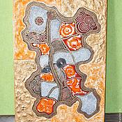 Картины и панно ручной работы. Ярмарка Мастеров - ручная работа абстракция,золото. Handmade.