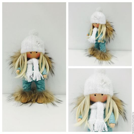 Коллекционные куклы ручной работы. Ярмарка Мастеров - ручная работа. Купить Кукла текстильная.Кукла интерьерная.. Handmade. Тёмно-бирюзовый