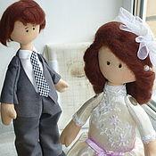 Свадебный салон ручной работы. Ярмарка Мастеров - ручная работа Счастливая пара.. Handmade.