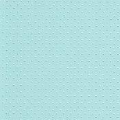 """Материалы для творчества ручной работы. Ярмарка Мастеров - ручная работа Бумага с тиснением """"Горошки"""", цвет Голубой, 3 листа, 20 Х 30 см. Handmade."""