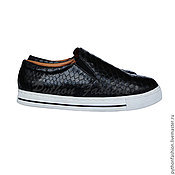 Обувь ручной работы handmade. Livemaster - original item Espadrilles from Python ARIEL. Handmade.