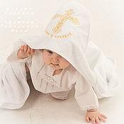 Работы для детей, handmade. Livemaster - original item Towel-Terry area Save and Protect. Handmade.