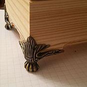 Материалы для творчества ручной работы. Ярмарка Мастеров - ручная работа Ножки для шкатулки, комода. Handmade.