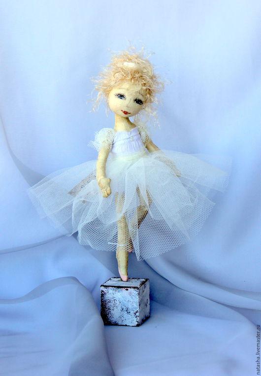 Коллекционные куклы ручной работы. Ярмарка Мастеров - ручная работа. Купить Балетные истории..... Handmade. Белый, маленькая балерина