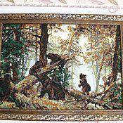 Картины и панно ручной работы. Ярмарка Мастеров - ручная работа Утро в сосновом бору. Handmade.
