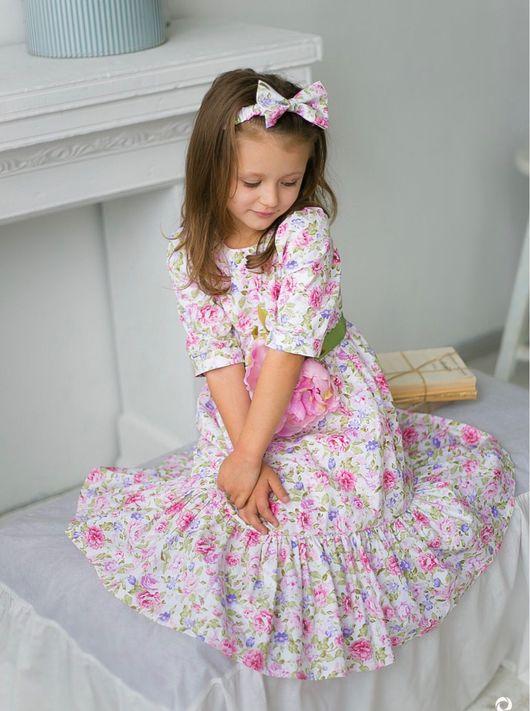 """Одежда для девочек, ручной работы. Ярмарка Мастеров - ручная работа. Купить Платье для принцессы """"Романтика"""" Скидка!. Handmade. Нежное платье"""