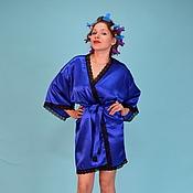 Одежда ручной работы. Ярмарка Мастеров - ручная работа халат кимоно. Handmade.