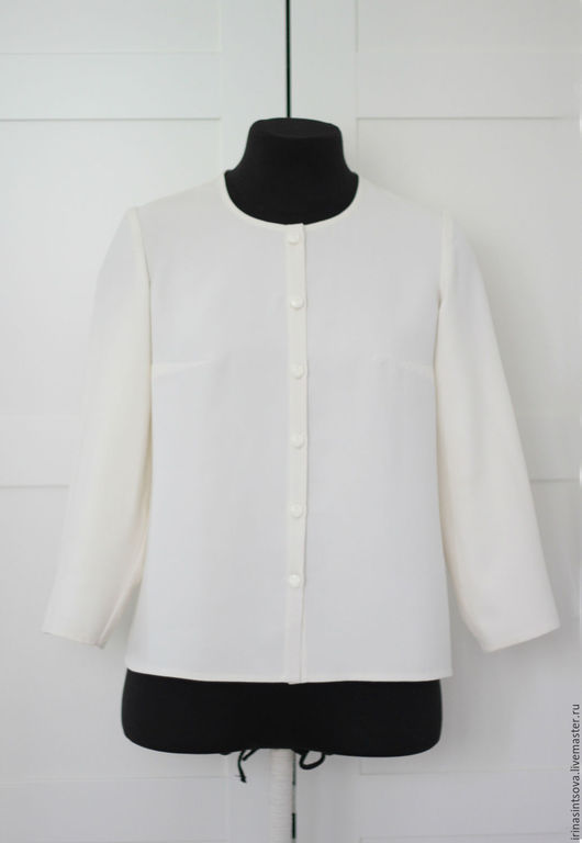 Блузки ручной работы. Ярмарка Мастеров - ручная работа. Купить Блуза натуральный шелк. Handmade. Блуза шелковая, женская одежда