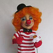 Куклы и игрушки ручной работы. Ярмарка Мастеров - ручная работа Кукла Клоунесса. Handmade.