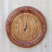 Для дома и интерьера handmade. Livemaster - original item Round wall clock for home No. 2.. Handmade.