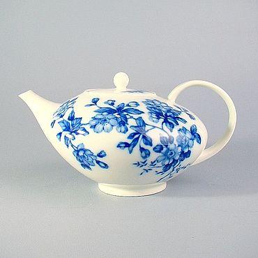 Винтаж ручной работы. Ярмарка Мастеров - ручная работа Винтажные чайники: Фарфоровый чайник Krautheim. Handmade.