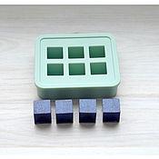 Материалы для творчества ручной работы. Ярмарка Мастеров - ручная работа Молд для 6  кубов, 16 мм... Handmade.