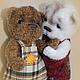 Вязание ручной работы. Заказать мастер-класс мишки Чук и Гек от mariyaaa. mariyaaa. Ярмарка Мастеров. Мишка тедди