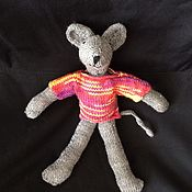 Куклы и игрушки handmade. Livemaster - original item Mouse Lucy. Handmade.