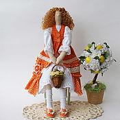 Куклы Тильда ручной работы. Ярмарка Мастеров - ручная работа Кукла Gabrielle в стиле тильда. Handmade.
