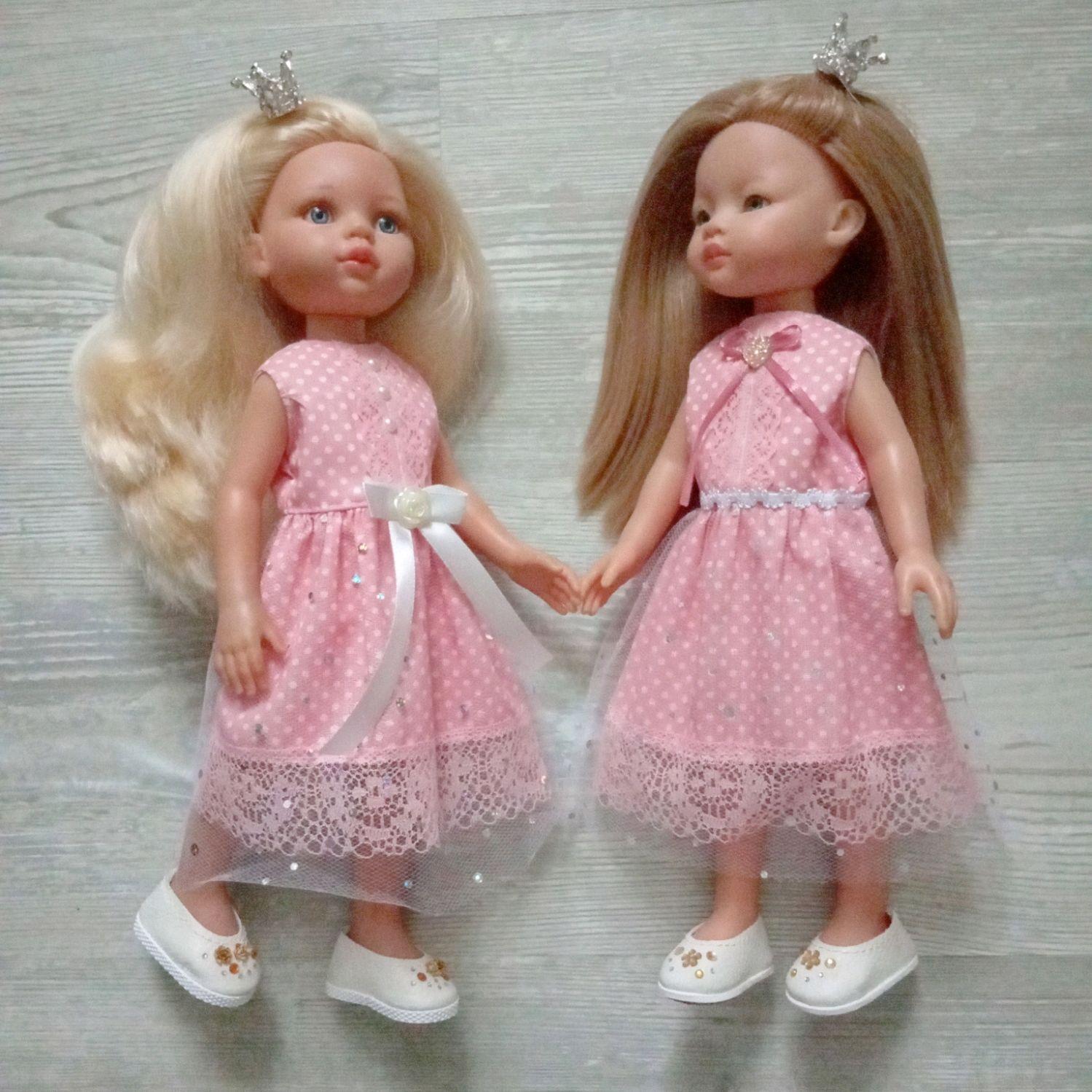 Платье для кукол 32-35см Паола Рейна и им подобным, Одежда для кукол, Москва,  Фото №1