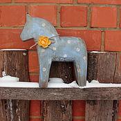 """Для дома и интерьера ручной работы. Ярмарка Мастеров - ручная работа Интерьерная лошадка """"Друг"""". Handmade."""