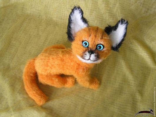 Игрушки животные ручной работы.Ярмарка мастеров ручная работа. Купить.Handmade. Рысь, котенок, коты, кошки.