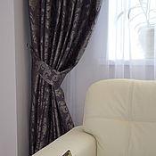 Для дома и интерьера ручной работы. Ярмарка Мастеров - ручная работа Шторы в гостиную на заказ(3). Handmade.