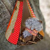 Куклы и игрушки ручной работы. Ярмарка Мастеров - ручная работа волчонок и ветер. Handmade.