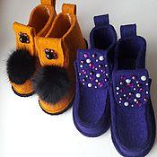 Обувь ручной работы. Ярмарка Мастеров - ручная работа Валеши дизайнерские. Handmade.