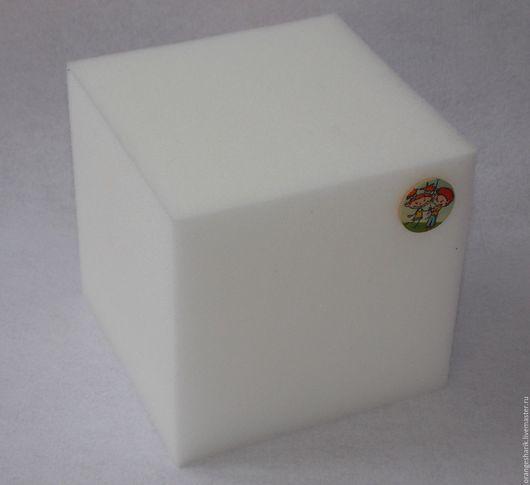 Другие виды рукоделия ручной работы. Ярмарка Мастеров - ручная работа. Купить Кубик поролоновый 15см. Handmade. Комбинированный