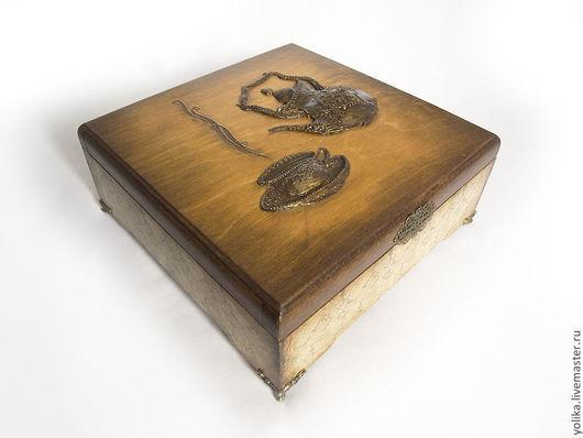 Корзины, коробы ручной работы. Ярмарка Мастеров - ручная работа. Купить Коробка под чай. Handmade. Чайная коробка