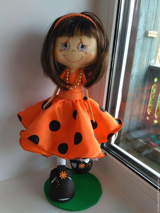 Коллекционные куклы ручной работы. Ярмарка Мастеров - ручная работа. Купить Кукла-Таня. Handmade. Комбинированный, кукла в подарок подруге