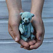 Куклы и игрушки ручной работы. Ярмарка Мастеров - ручная работа Голубчик (10 см). Handmade.