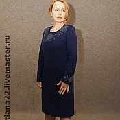 """Платья ручной работы. Ярмарка Мастеров - ручная работа Вязаное платье""""Для себя любимой"""". Handmade."""