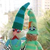 Куклы и игрушки ручной работы. Ярмарка Мастеров - ручная работа Скромник и Умник 7 гномов. Handmade.