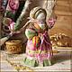 Народные куклы ручной работы. Заказать Святозарница. Ольга Миронова. Ярмарка Мастеров. Святозар-день, русская кукла, лён