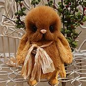 Куклы и игрушки ручной работы. Ярмарка Мастеров - ручная работа Ксюшечка- пушная малышка тедди. Handmade.