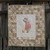 """Картины и панно ручной работы. Ярмарка Мастеров - ручная работа Текстильное панно """" Девочка Сью"""" Лоскутная работа. Handmade."""
