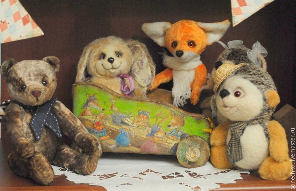 """Возок """"Такой секрет для маленькой,для маленькой такой компании..."""", Кукольные домики, Енакиево,  Фото №1"""