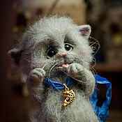 Куклы и игрушки ручной работы. Ярмарка Мастеров - ручная работа Котик, котик, мяу-мяу-мяу!. Handmade.