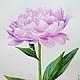 Картины цветов ручной работы. Ярмарка Мастеров - ручная работа. Купить Розовый Пион акварель. Handmade. Розовый, акварельный рисунок