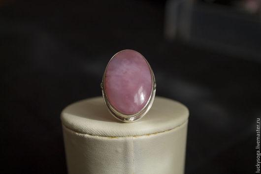 """Кольца ручной работы. Ярмарка Мастеров - ручная работа. Купить кольцо из серебра ручной работы с розовым опалом """"Фея"""". Handmade."""